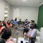 Prazo de entrega do mercado da Cohab é pauta de reunião entre Marcial Lima e secretário Liviomar Macatrão