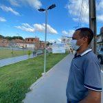 Marcos Castro acompanha obras que estão sendo implementadas  no Coroadinho