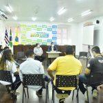 Vice-presidente da Câmara se reúne com secretário Enéas Fernandes e conselheiros tutelares