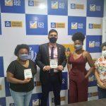 Daniel Oliveira recebe Fórum Permanente do Livro, Leitura, Literatura e Biblioteca do Maranhão