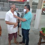 Marcial Lima cumpre agenda em várias comunidades de São Luís