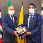 Osmar Filho recebe Procurador-Geral do MPMA e reforça parcerias entre os Poderes