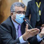 Marcial Lima chama atenção para a falta d'água, na capital